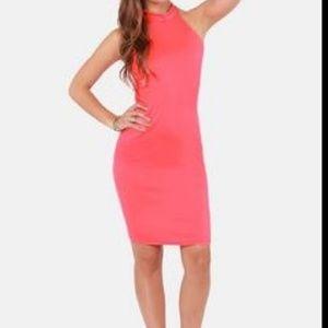Lulu's Be the Bond Girl Dress Sleeveless Midi